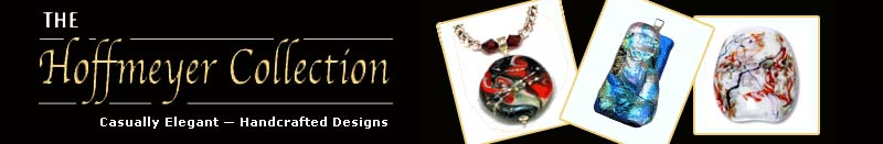 Logo - The Hoffmeyer Collection - Finely Handcrafted lampwork and  Fused Glass Jewelry